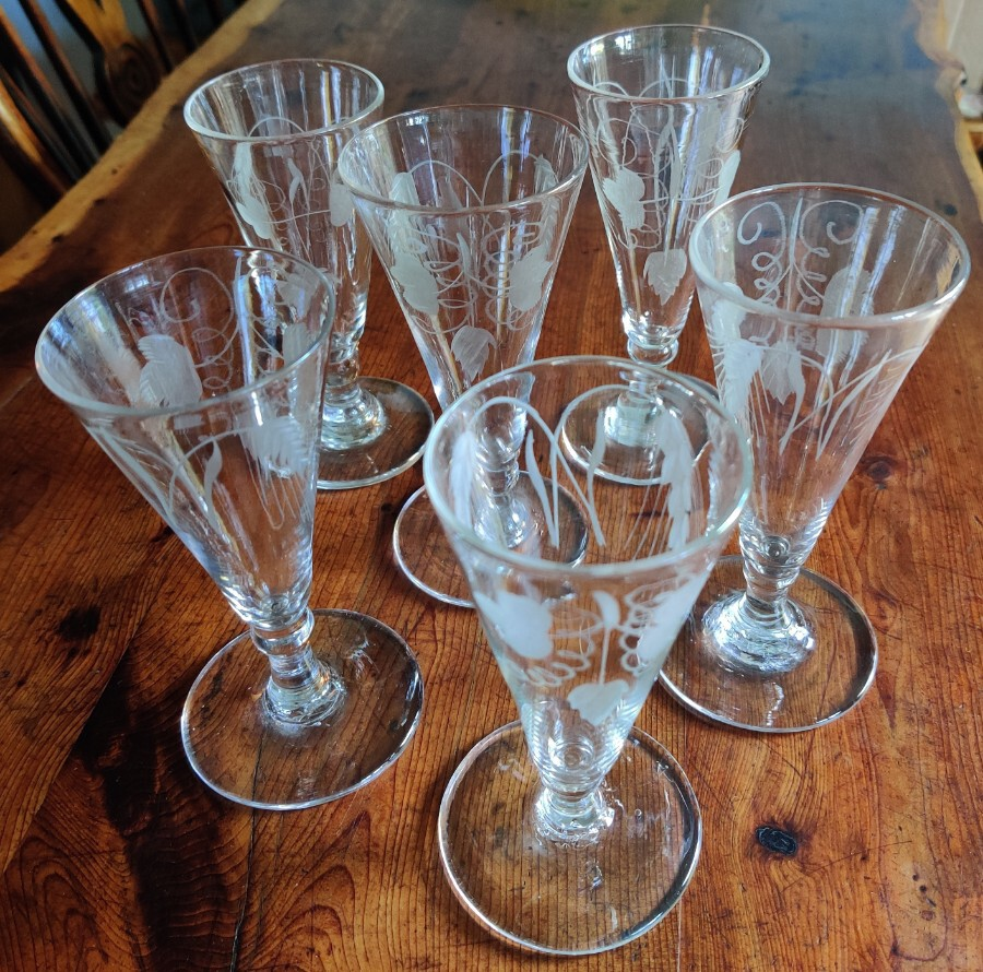 6 Ale Glasses