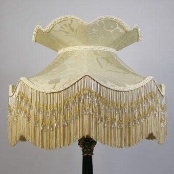Pretty Ballerina lampshade with crown suitable for a table lamp (pair available)
