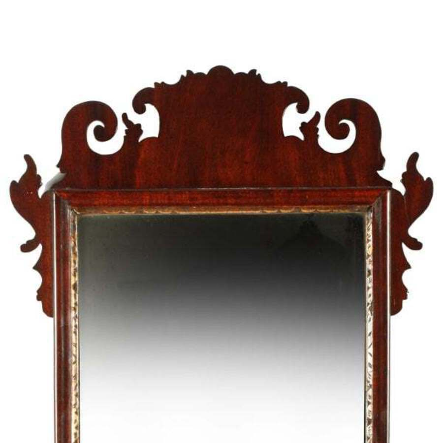 Antique 18th Century Chippendale Mirror SOLD