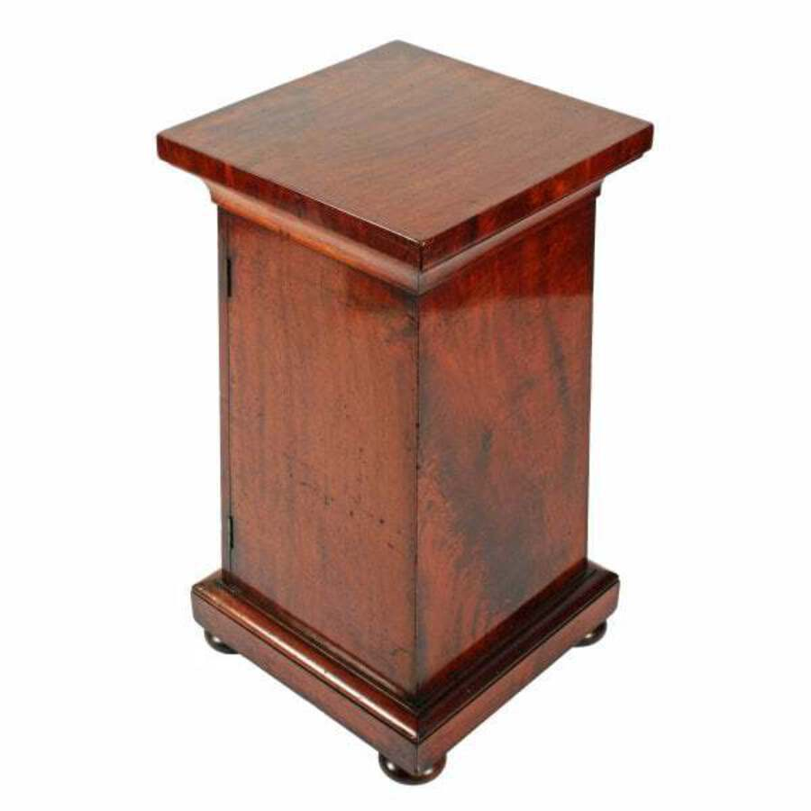 Antique 19th Century Mahogany Pedestal Cabinet