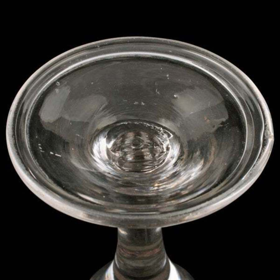 Antique 18th Century Georgian Gin Glass