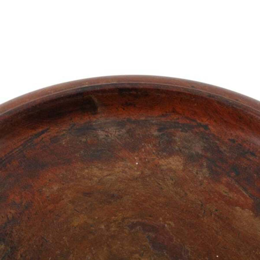 Antique 19th Century Mahogany Bottle Coaster