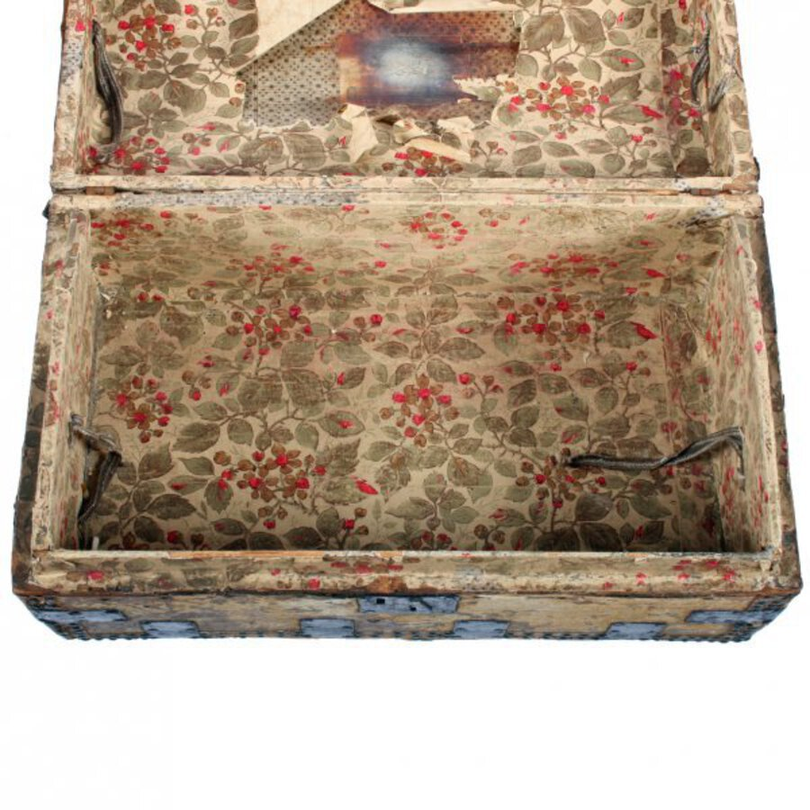 Antique 18th Century Dome Top Trunk