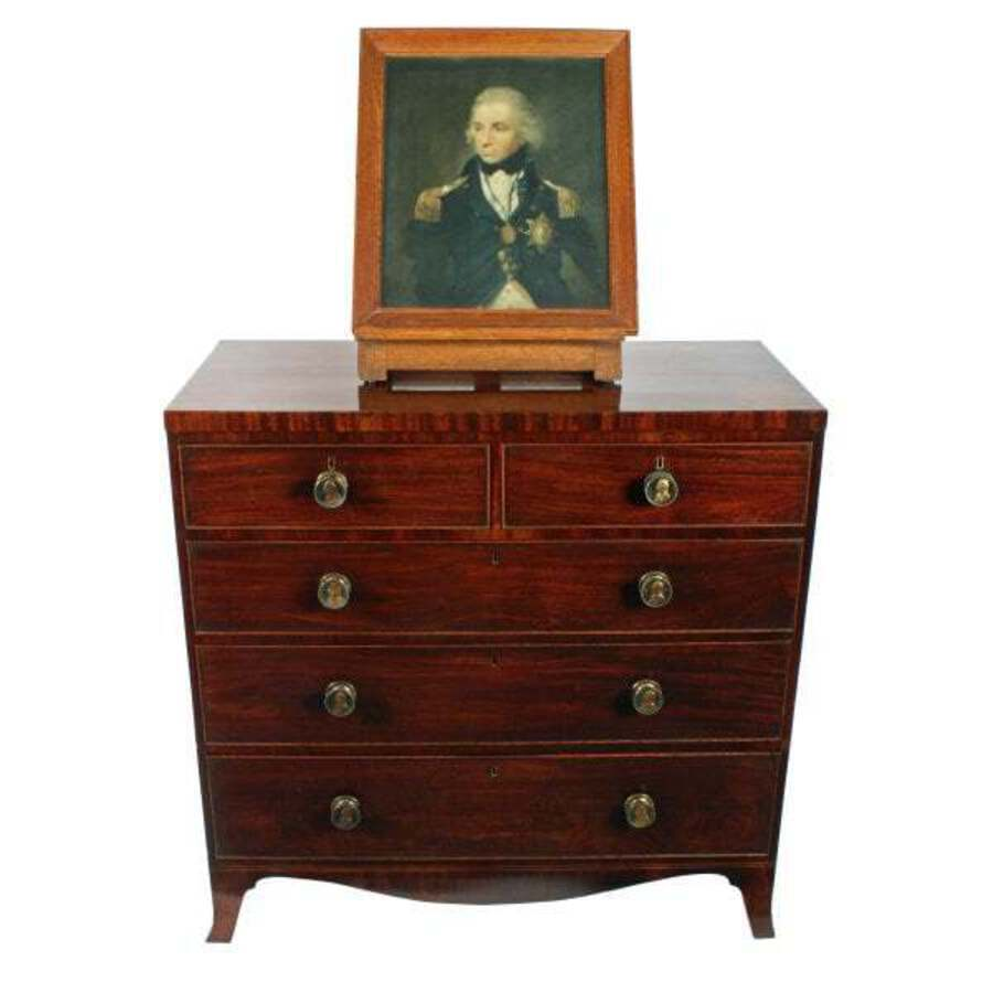 Antique Admiral Lord Nelson Chest of Drawers