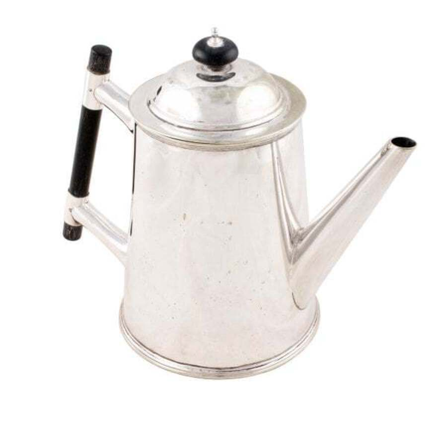 Antique Victorian Silver Plated Tea Pot