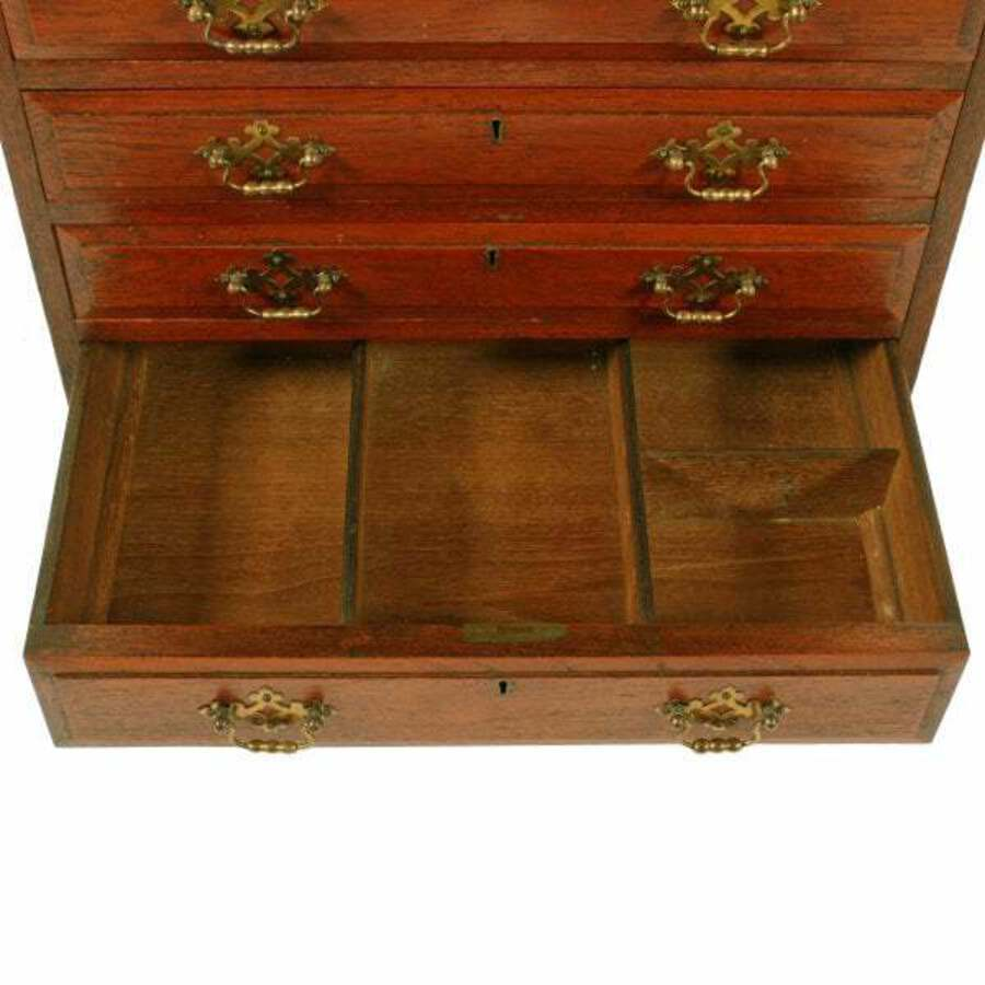 Antique Small Victorian Seven Drawer Chest