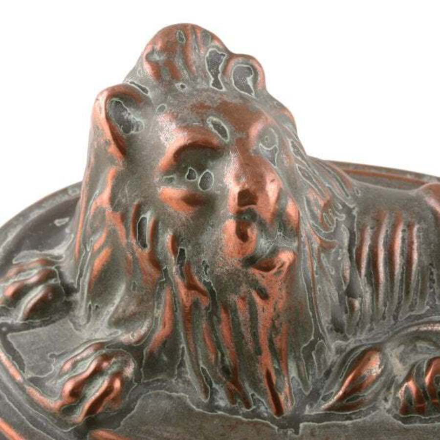 Antique 19th Century Lion Jelly Mould SOLD