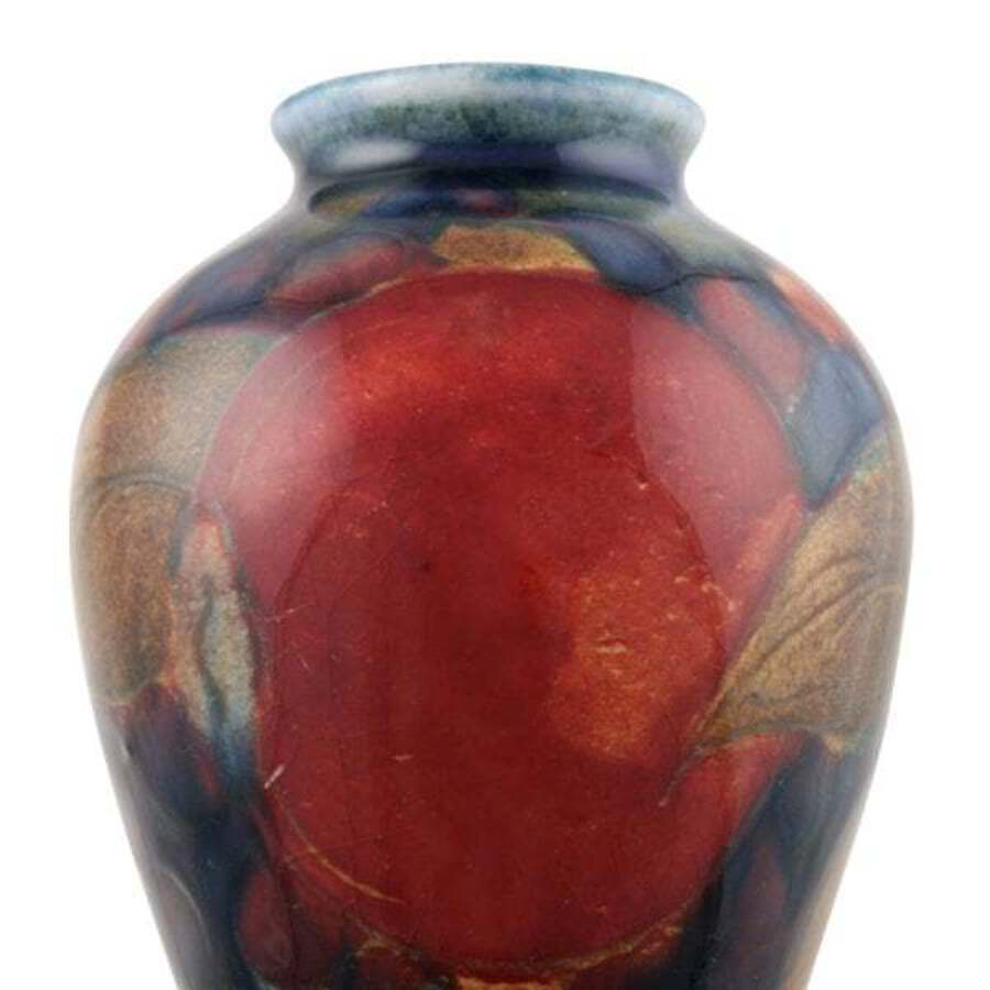 Antique Miniature Moorcroft Pomegranate Vase