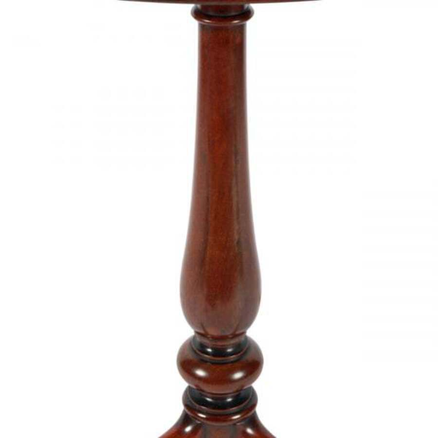 Antique Victorian Mahogany Tripod Table