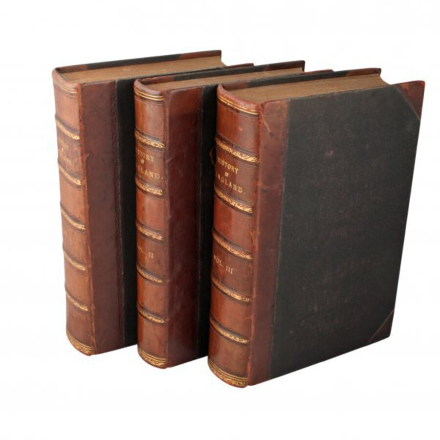Antique Three volumes of 'The History of England'