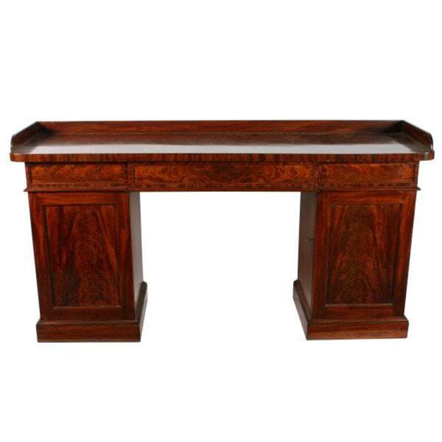 Georgian Gillows of Lancaster Mahogany Sideboard