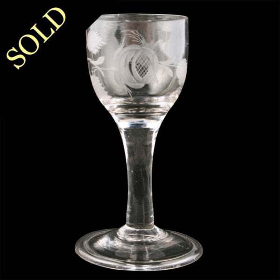 18th Century Georgian Gin Glass