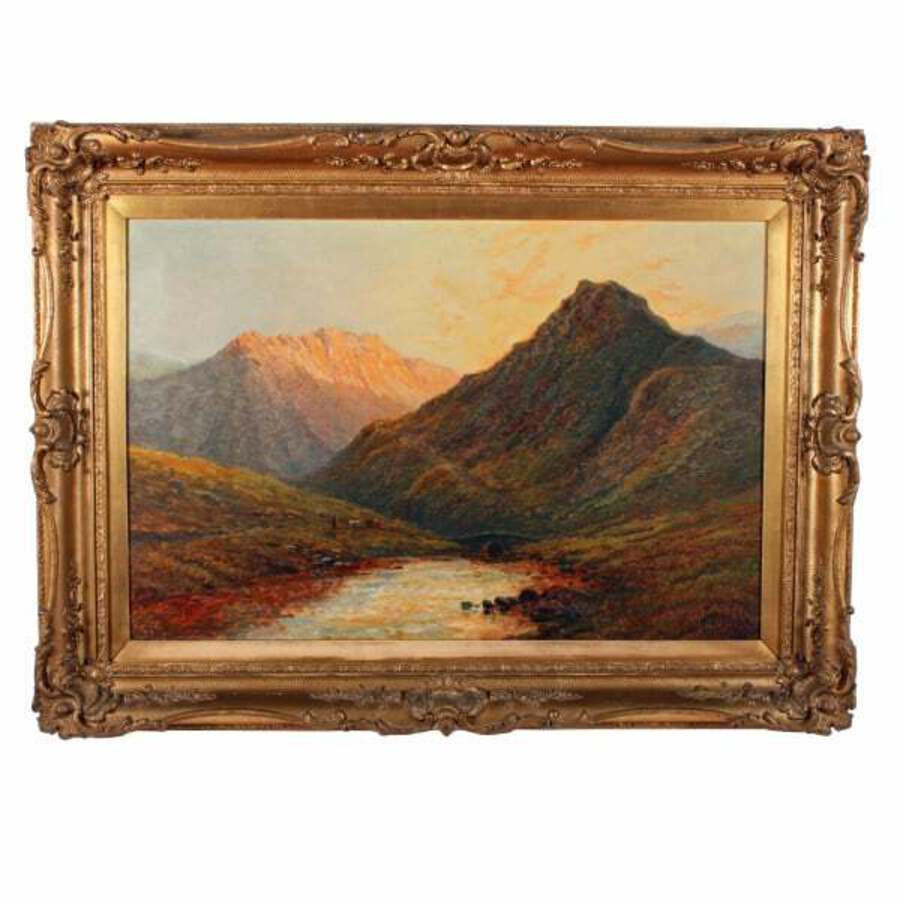 'In The Trossachs' by Alfred De Breanski