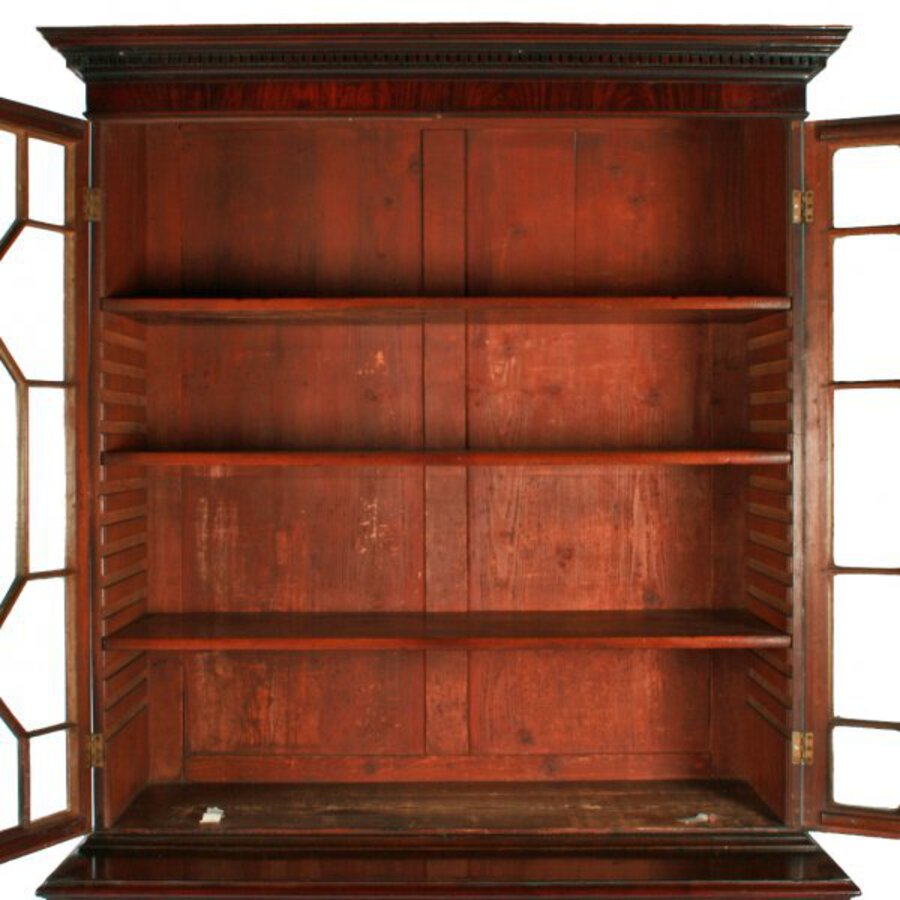Antique George III Secretaire Bookcase