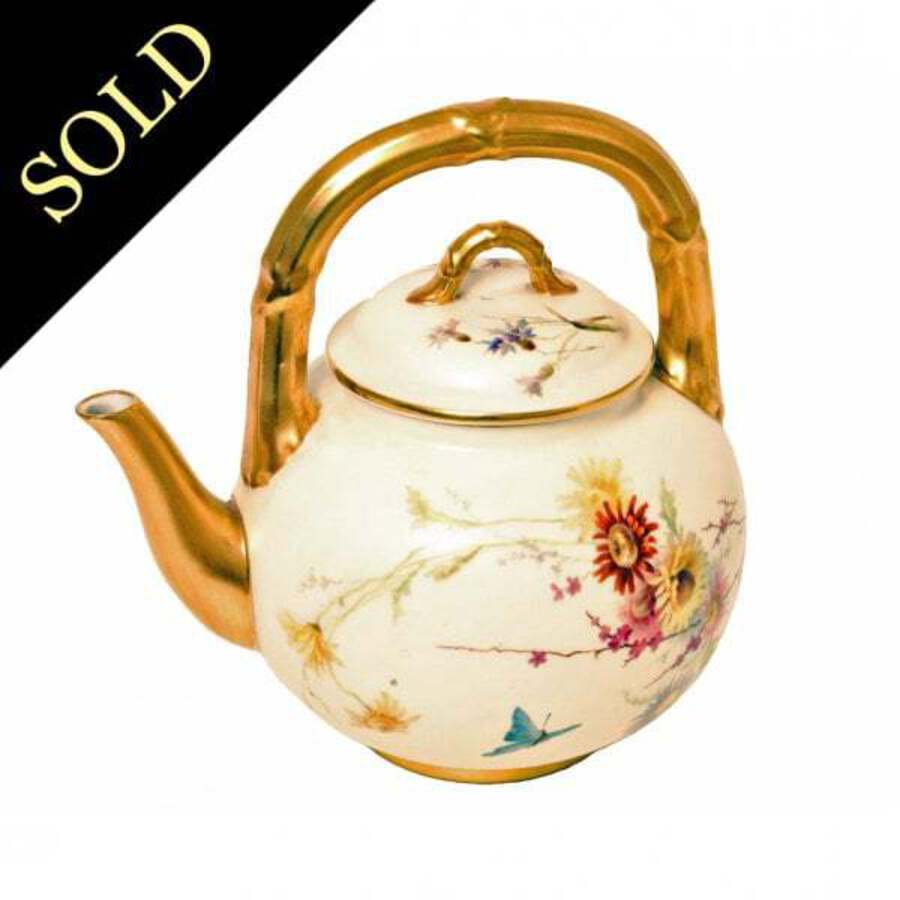 19th Century Royal Worcester Tea Pot SOLD