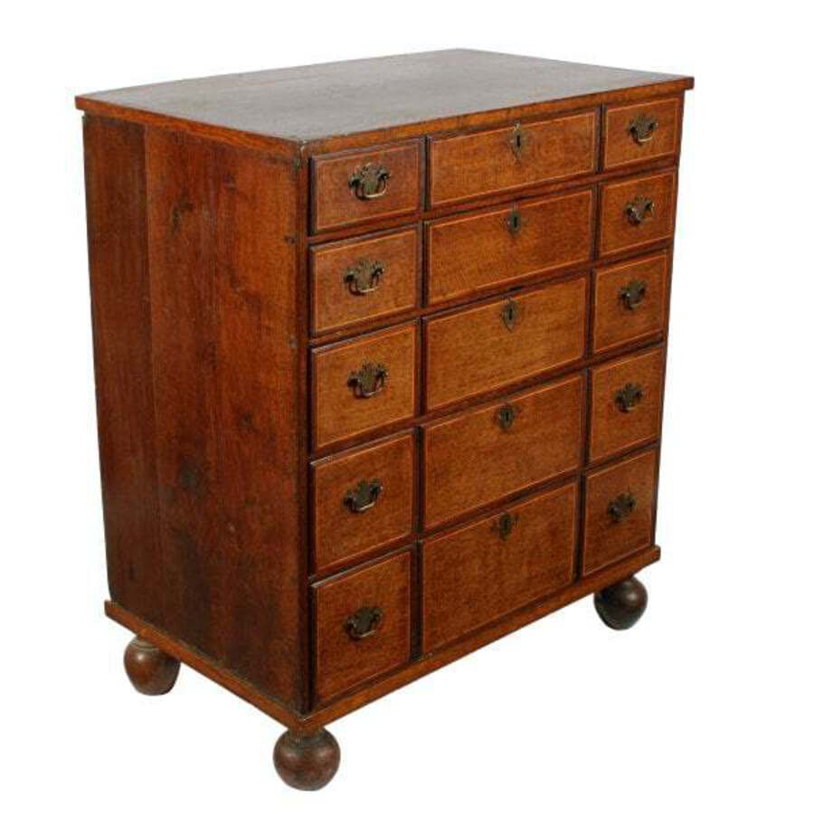 Antique 19th Century Oak Chest of Drawers