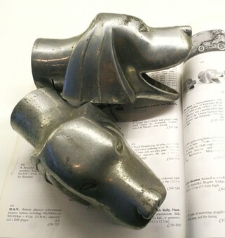 Antique ART DECO/1930s Vintage car mascots/exhaust finishers - CHRISTIE'S