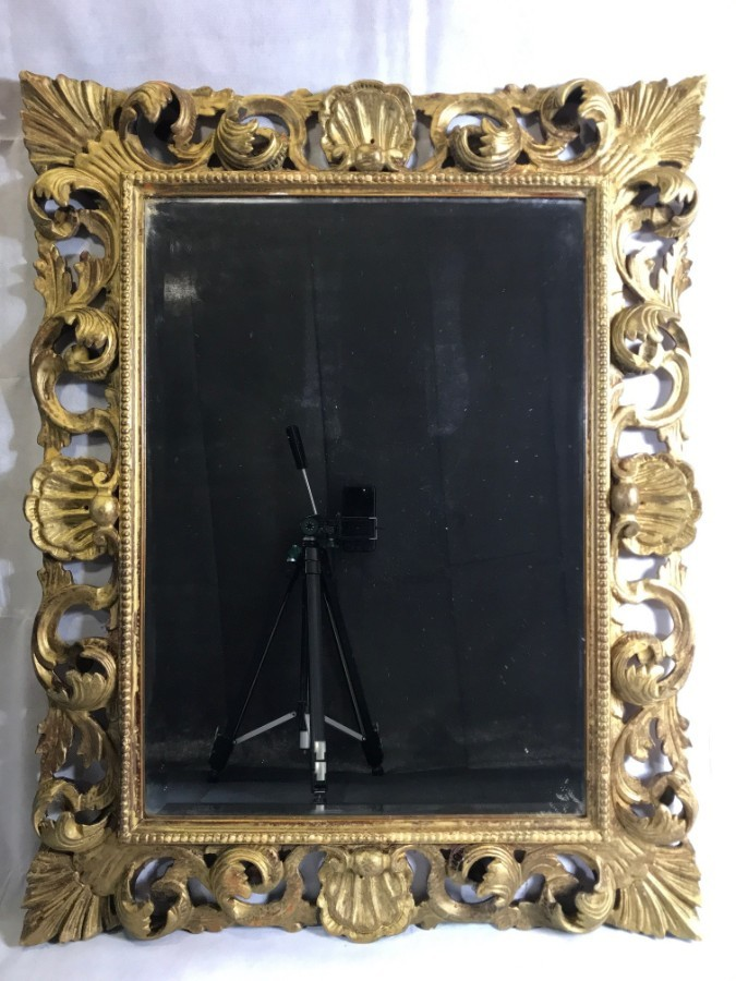 Antique Mirror XIX Century Florence