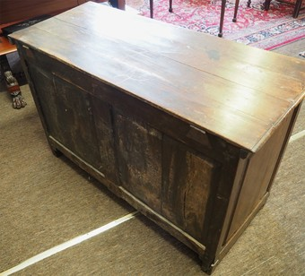 Antique 18th CENTURY OAK DOWER CHEST OR COFFER
