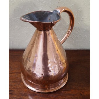 Victorian Half Gallon Copper Measure