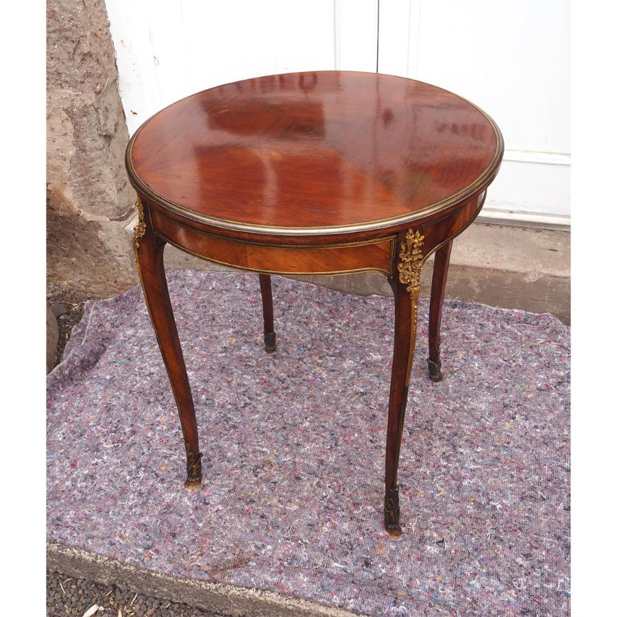 Antique MID 19th CENTURY KINGWOOD & ORMULU CENTRE TABLE
