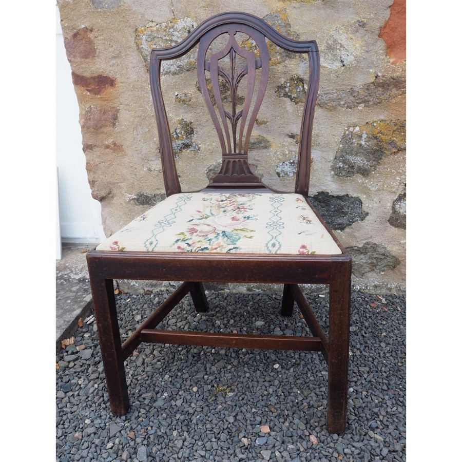 Antique FINE 18th CENTURY HEPPLEWHITE DINING CHAIR
