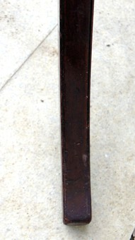 Antique Tall Victorian Walnut coat & hat stand with revolving top