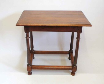 Victorian Oak low boy or occasional/side  table