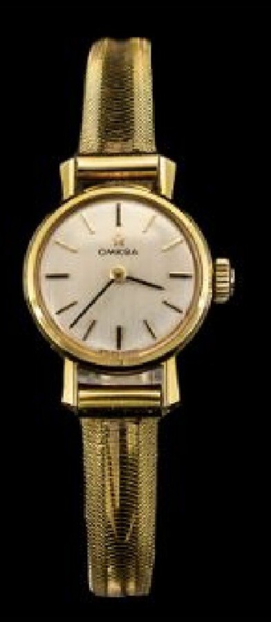 RARE 1970 OMEGA 18CT GOLD LADIES WATCH