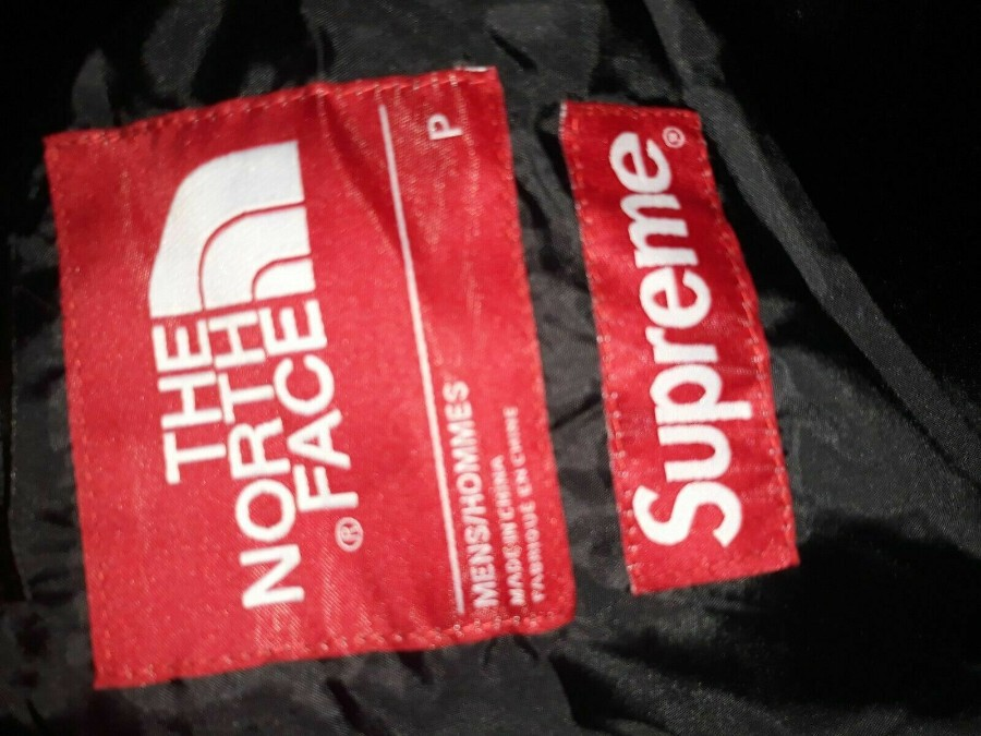 Antique Supreme X The North Face Expedition Coaches Jacket Blue L