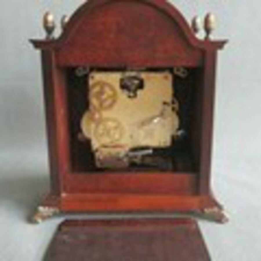 Antique St James table / bracket / mantle clock with westminster chiming and Moon phase.