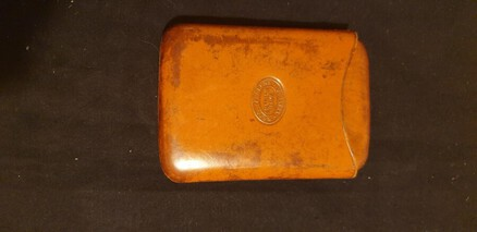 Antique Sadlers London Cigar Case