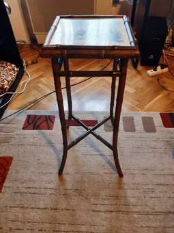 Secessionist bamboo table