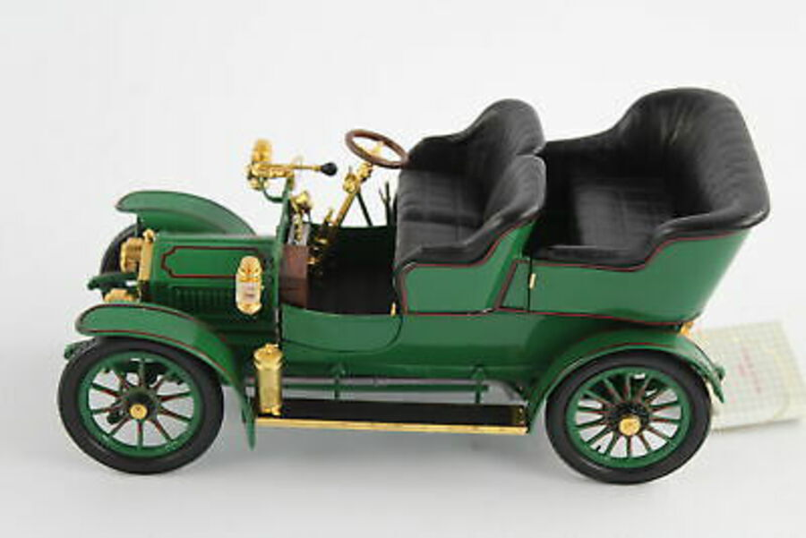 Antique FRANKLIN MINT 1905 Rolls Royce 1:24 Scale Diecast Model Car
