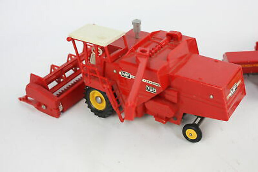 Antique 3 x Vintage BRITAINS Diecast Models Inc. Massey Ferguson 760 & Balers