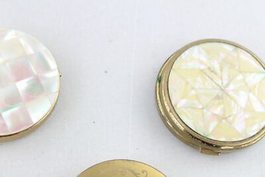 Antique 8 x Vintage Ladies Vanity COMPACTS Inc Regent Of London, Yardley, Mascot, MOP
