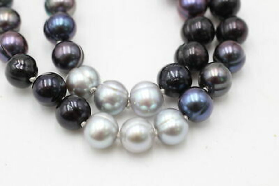 Antique 2 x .925 Honora PEARL JEWELLERY inc. Necklace, Bracelet (120g)