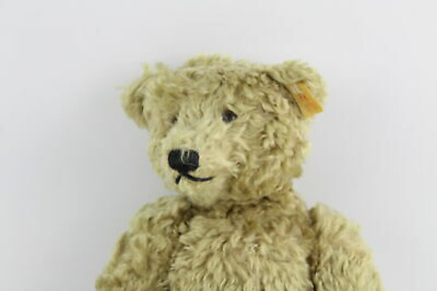Antique STEIFF Classic Series Growler Mohair Jointed Teddy Bear 000751 w/ Original Tag