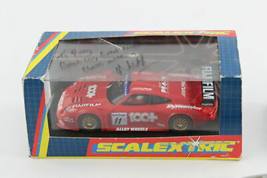 Antique 3 x SCALEXTRIC Slot Racing Cars Inc. Boxed Porsche 911 GTI C.2202, L5844 Etc