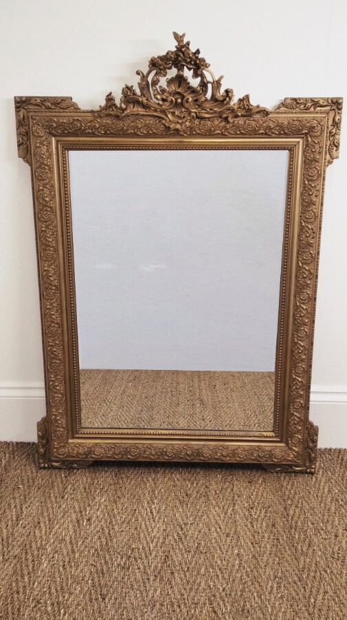 Antique French 19th Century Louis XIV Style Mirror