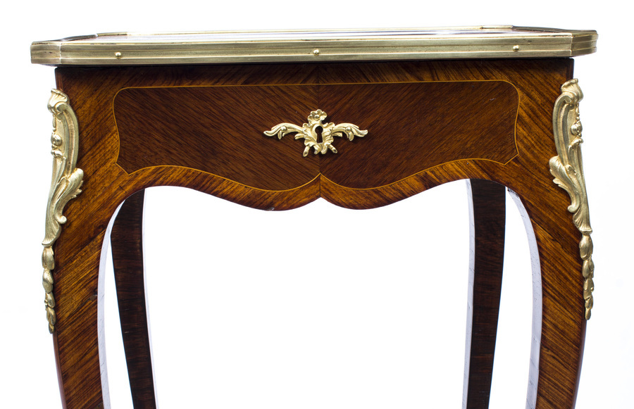 Antique Antique French Louis XV Revival Side Occasional Table c.1870