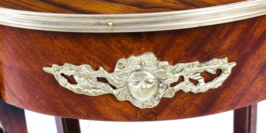 Antique Antique French Empire Revival Ormolu Mounted Gueridon Occasional Table 19th C