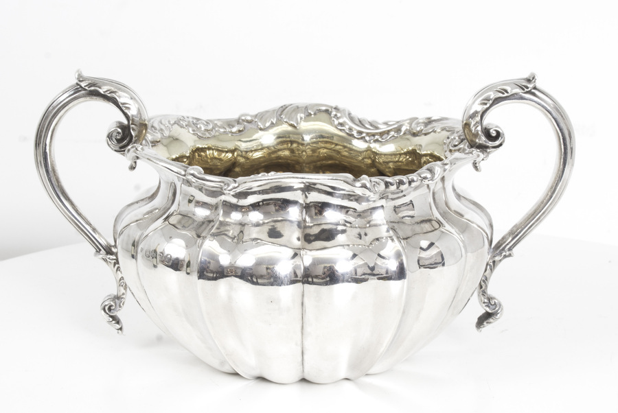 Antique Antique William IV Sterling Silver Sugar Bowl by Paul Storr 1830