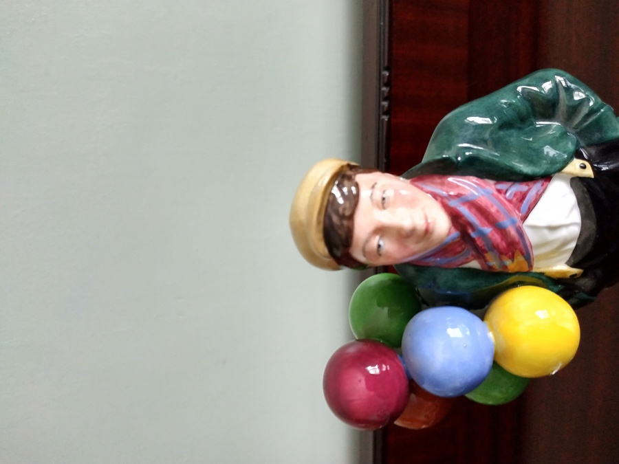 Antique Balloon Boy - Royal Doulton Figurine HN2934