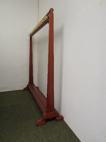 Antique Thurston Billiard Cue stand