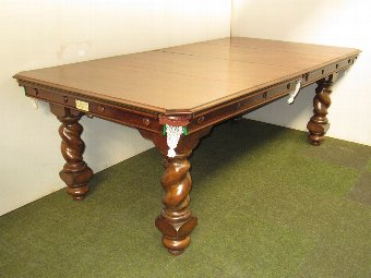 Antique Jelks 7ft Billiard/Dining table