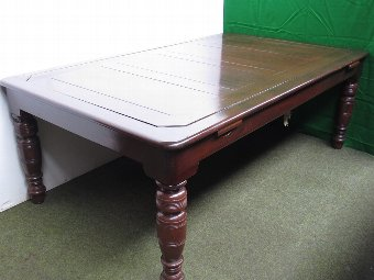 Antique 6ft - 7ft 'rollover' Billiard/Dining table