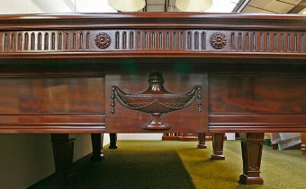 Antique Full Size 'Sir Tom Jones' Billiard Table by Burroughes & Watts