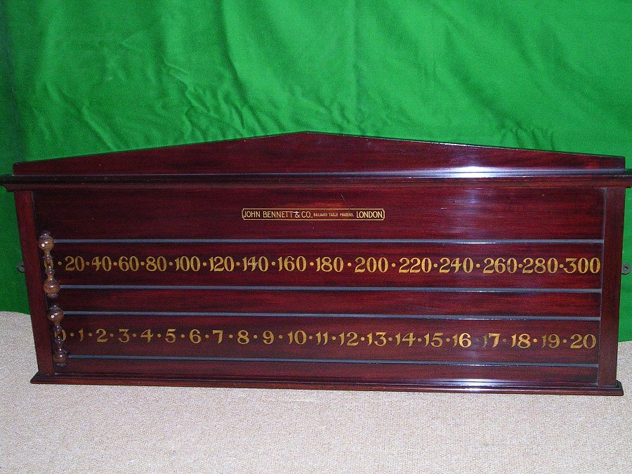 Billiards & Snooker Scoreboard