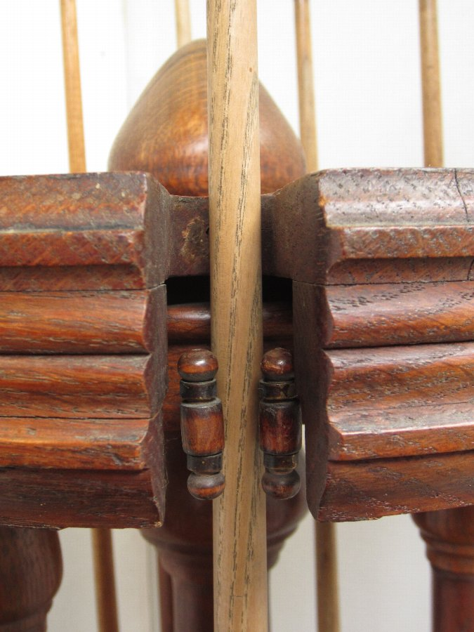 Antique Billiard Cue stand